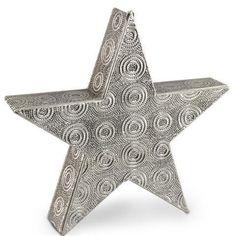 Lámpara para velas forma estrella grande #decoracion #velas #incienso #regalos