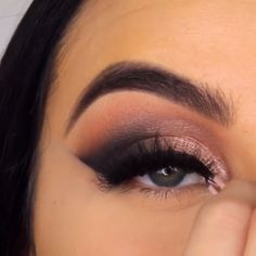 How to be beautiful easily. - Make up - Makeup Makeup 101, Makeup Goals, Eyebrow Makeup, Love Makeup, Makeup Inspo, Eyeshadow Makeup, Makeup Inspiration, Beauty Makeup, Hair Makeup
