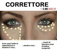 Ecco come applicare il #correttore ... #makeup #tutorial #trucco #occhi #consigli #tips #bellezza #beauty
