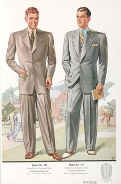 мужская мода 40-х годов 1930s Fashion 44d1ed003aeda