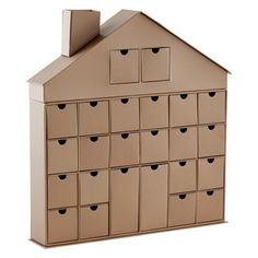nick would love this!  24-Drawer Decorative House