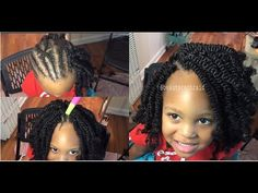 Gotta try this Crochet Braids Hairstyles For Kids, Little Girl Hairstyles, Braided Hairstyles, Kid Hairstyles, Afro Twist, Big Box Braids, Girls Braids, About Hair, Protective Styles