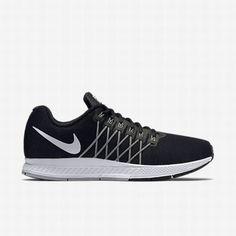 Nike Men's Black/Pure Platinum/Cool Grey/Reflect Silver Air Zoom Pegasus 32  Flash Running Shoe