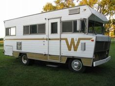 1971 Winnebago Brave Motorhome. We borrowed this with another family and took a trip to Key West and Orlando in the early 80s.: