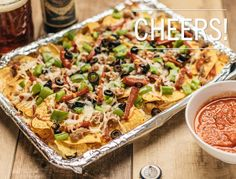 Appetizer idea: 'Za-chos (Pizza Nachos)
