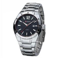 Men Sports Stainless Steel Quartz Analog