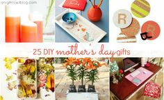 Mother's Day is right around the corner and here are some DIY Mother's Day Gift Ideas that are personal and from the heart!