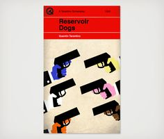 Reservoir Dogs ~ Minimal Movie Poster by Sharm Murugiah ~ Quentin Tarantino Screenplays Series Reservoir Dogs, Book Posters, Cinema Posters, Penguin Books, Book Cover Art, Book Cover Design, Quentin Tarantino Films, Non Plus Ultra, Minimal Movie Posters