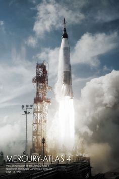 Mercury-Atlas 4 launch (Sept. 13, 1961)