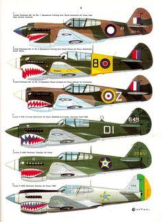 me-bf-109,mustang,phantom,spitfire,spad,sabre,sharkmouth