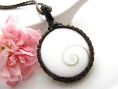 Shiva, Shiva Eye, Shiva eye shell Necklace, gifts for Teens, spiral, anniversary gift, soul mate necklace, Unique,  gift for friend