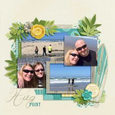 Digital Scrapbooking Page Layout by Annette Pixley (pixleyyy) using Life 2016 - June from Melissa Bennett
