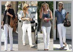 Calças brancas são tendências da moda que chamam atenção dos homens