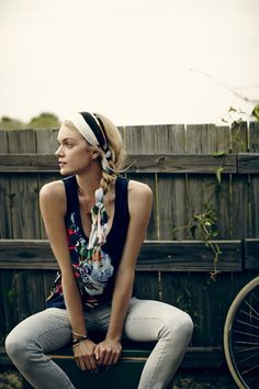 Hair Helper: When humidity starts wreaking havoc, knot a long scarf a...