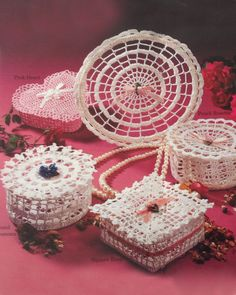 Maggie's Crochet · Keepsake Lace Potpourri Boxes Crochet Pattern