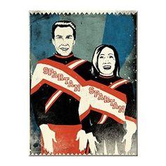 Spartan Cheerleaders Saturday Night Live magnet