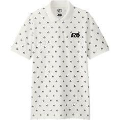 2310a610 MEN STAR WARS PIQUE POLO SHIRT Uniqlo, Pique Polo Shirt, Me Gustas, Polka