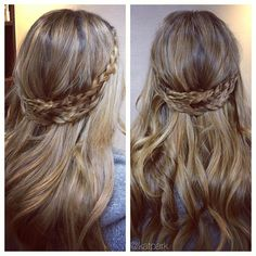 Celtic Huntress Hairstyle <3