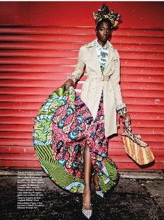 """Bonjour Africa"" fashion editorial"