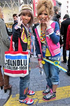 Japanese Girls in Shibuya