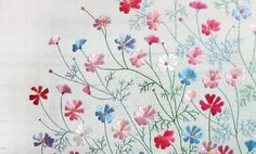 japanese embroidery. love it. so delicate. click to enlarge