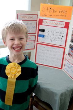 What tape is stickiest? Helping young kids in the science fair by Outside Mom
