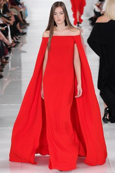 Ralph Lauren Spring 2014 Ready-to-Wear Collection Slideshow on Style.com- we loved the colour pop from Ralph!
