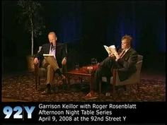Garrison Keillor reads Pontoon at the 92nd Street Y. See upcoming events at 92Y Poetry: http://www.92y.org/Uptown/Literary-Readings/Main-Reading-Series?utm_source=pinterest_92Y_medium=pinterest_92Y_MainReadingSeries_May412_campaign=Poetry_Center