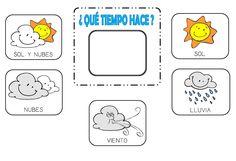 Resultado de imagen para climas de la semana para preescolar