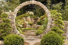 Traditioneller Japanischer Garten Gestaltung