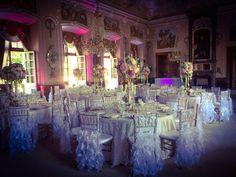 Wedding mirror hall