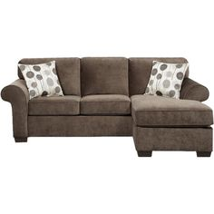 American-made sleeper sectional sofa with kiln-dried hardwood framing and foam cushioning. Converts into a queen bed.  Product: ...