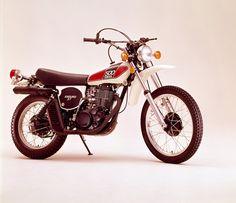 Yamaha XT 500 #yamaha #moto #enduro #storia #vintage #design