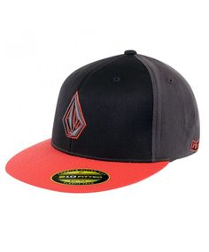 90f8ab9d06c Volcom 2Stone 210 Fitted Pet Black Combo
