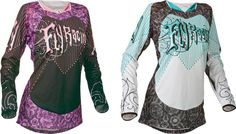 2015 Fly Racing Kinetic Womens Motocross Dirtbike MX ATV Riding Gear Jersey