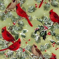 christmas quilting fabric | Fabric is $12.00/yard. Fat quarters are $3.25