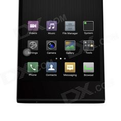 "LEAGOO Lead1 MTK6582 Quad-Core Android 4.4.2 WCDMA Bar Phone w/ 5.5"" HD, 8GB ROM, Wi-Fi, GPS - Black"