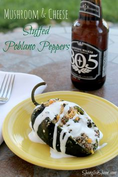 These Vegetarian Stuffed Poblano Peppers Will Make Your Mouth Water!