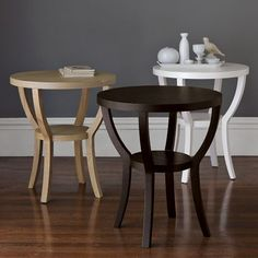 I've found you!  The perfect night table and a good price!  My furniture is large with a geometric feel - I need something open and soft to contrast, but still carry it's own weight, love this!