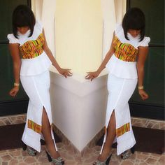 How the famous DBN *LaceKe* started. African Dresses For Women, African Print Dresses, African Print Fashion, African Attire, African Wear, African Fashion Dresses, African Women, African Prints, African Clothes