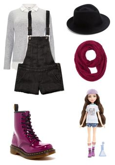 """""""Project MC2 McKeyla Themed Outfit"""" by gabby12703 ❤ liked on Polyvore featuring Studio 8, Eugenia Kim, Abercrombie & Fitch, Jasmine and Dr. Martens"""