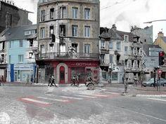 Ghosts of war - France; one way traffic by juffrouwjo, via Flickr