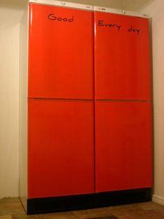 painting refrigerator!
