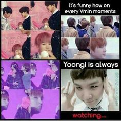 Because Yoonmin...