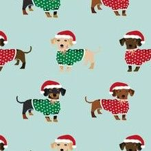 Colorful fabrics digitally printed by Spoonflower - doxie christmas fabrics cute dachshunds in sweaters best doxie dogs fabric Dachshund Sweater, Christmas Fabric, Custom Fabric, Spoonflower, Fabrics, Snoopy, Gift Wrapping, Colorful, Printed
