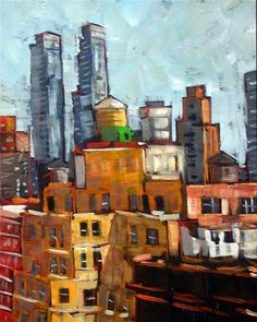 """""""New York Rooftops"""" by Amy Stewart"""