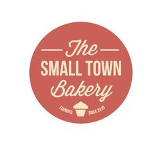 Logo Small Town Bakery by Suzanne Janssen, via Behance