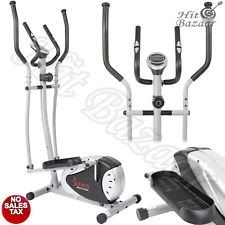 ELLIPTICAL BIKE CROSS Trainer Fitness Exercise Machine Cardio Gym LCD Workout