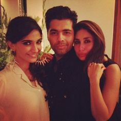 Spotted- Kareena hanging out with Karan Johar & Sonam Kapoor