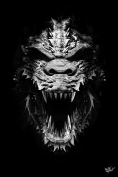 FANTASMAGORIK® GODZILLA by obery nicolas, via Behance